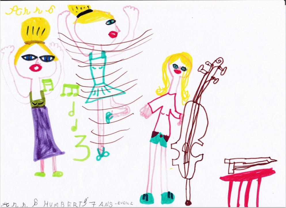Dessin Anna Humbert_7 ans