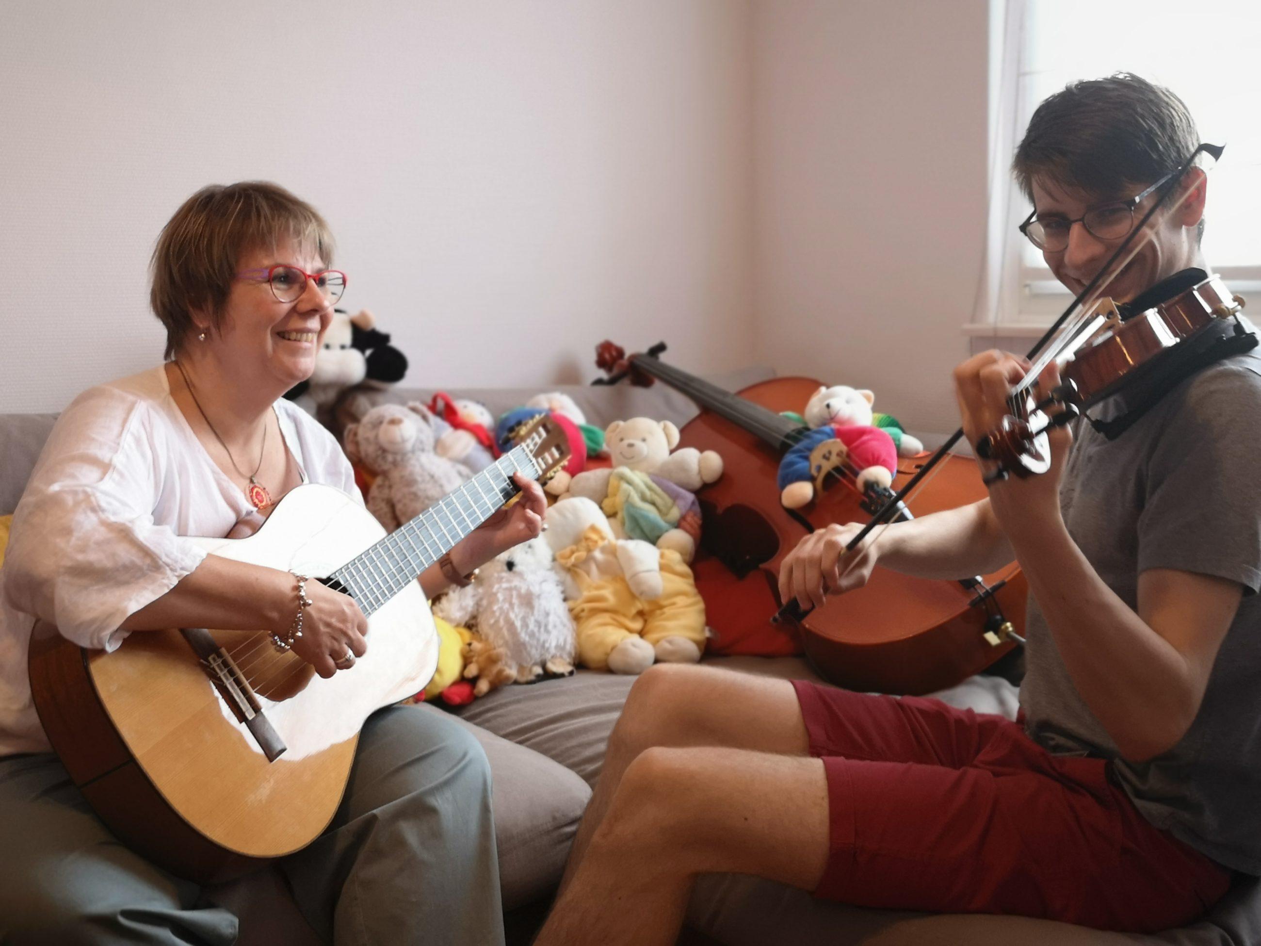 Frédérique Macquet - Guitare